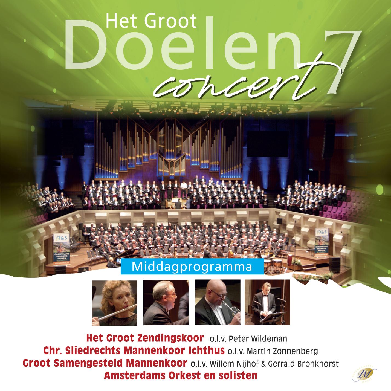 Groot Doelen concert 7 middag